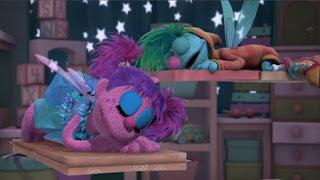Abby's Flying Fairy School Sheepytime, Abby Cadabby, Gonnigan, Sesame Street Episode 4416 Baby Bear's New Sitter season 44