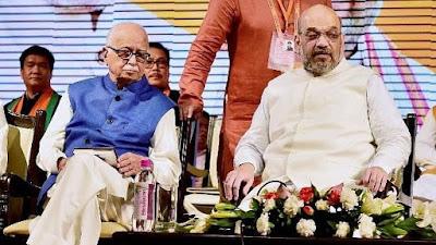 Amit Shah Meets BJP Veteran LK Advani Ahead Of Babri Case Hearing