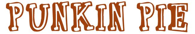 Punkin Pie Font