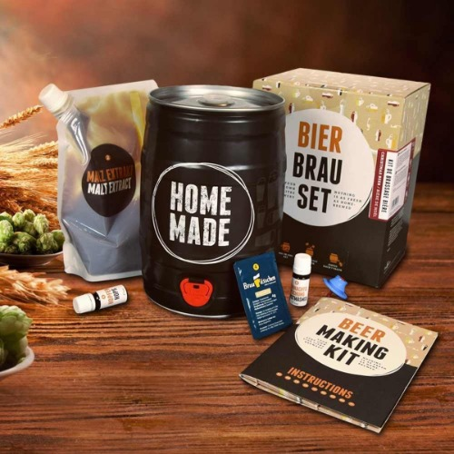 Zelf bier brouwen met Brew Barrel bierbrouw pakket