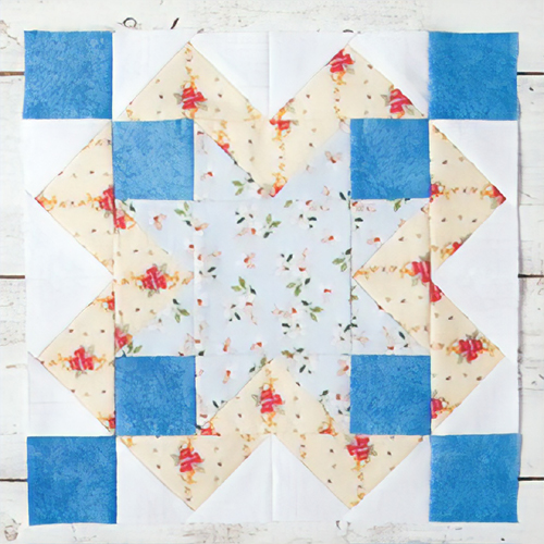 Eddystone Light Quilt Block - Free Pattern & Tutorial