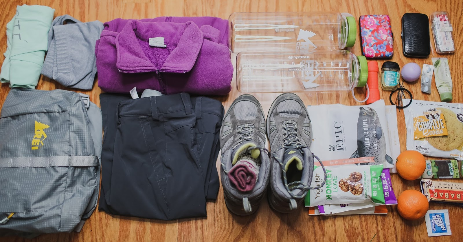 Packing for Guadalupe Peak National Park