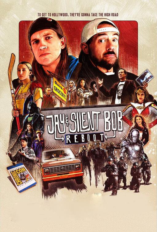 Jay & Silent Bob Reboot [2019] [DVDR] [NTSC] [Subtitulado]