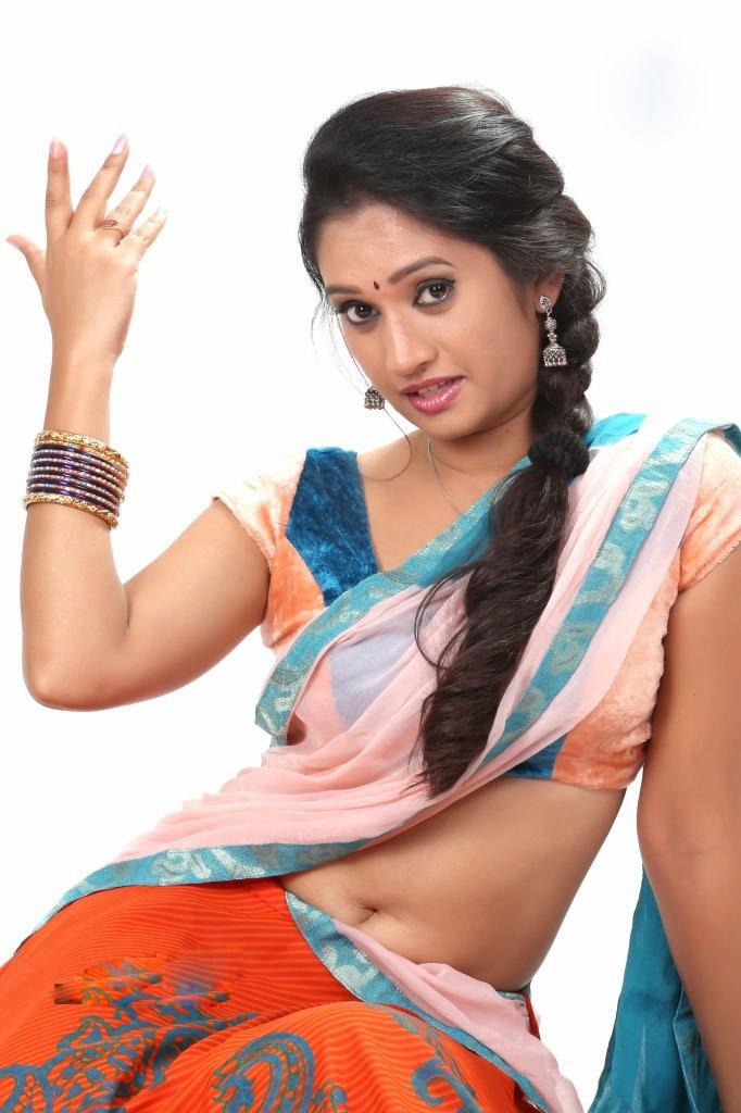 Priyanka pallavi sexy  in half saree