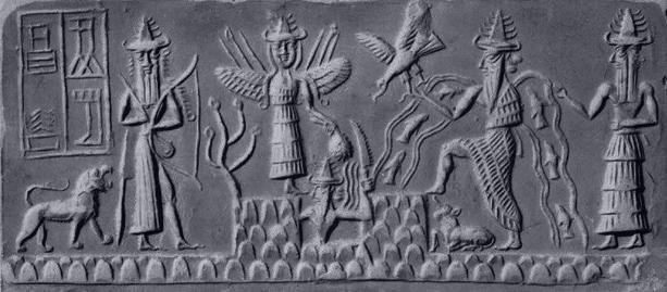 Los 7 dioses principales del pante n sumerio misterios y for Jardin querubines