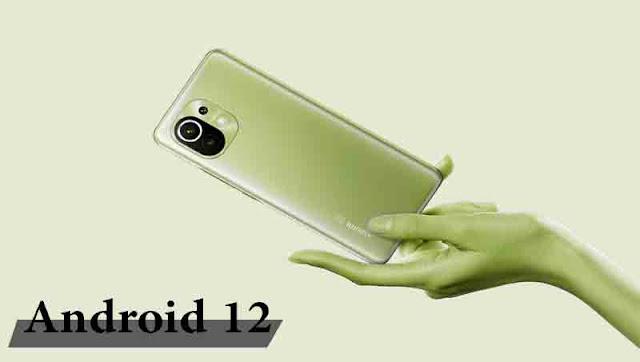 هاتف شياومي مع أندرويد 12 رسمي و MIUI 12.5