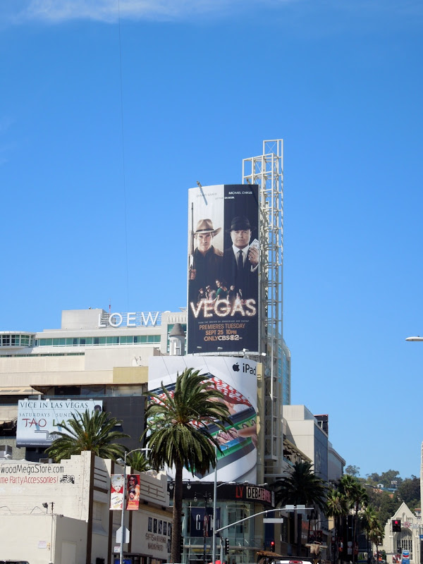 Vegas billboard Hollywood Highland