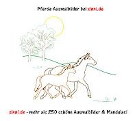 Malvorlagen Zum Ausmalen Ausmalbilder Pferde Stute Fohlen