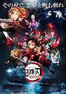 Demon Slayer-Kimetsu No Yaiba-The Movie: Mugen Train[2020]Latino Final[NTSC/DVDR-Custom HD]Japones, Español Latino