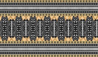 Jwellery-motif-border-for-textile-design