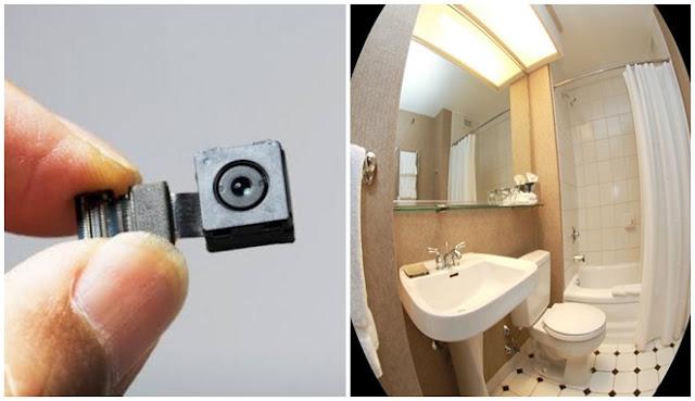 kamera tersembunyi di hotel