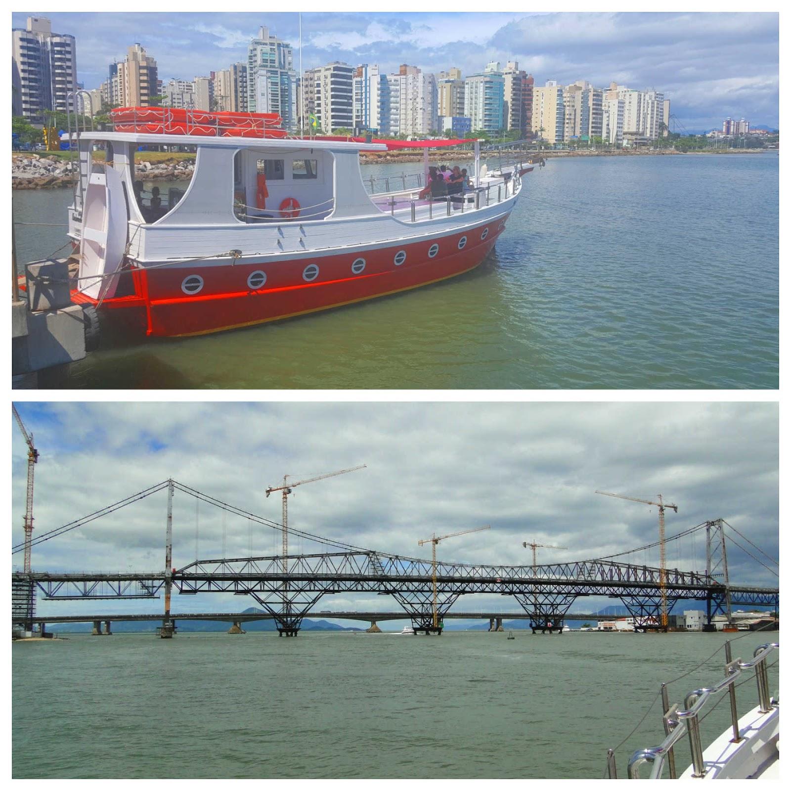 Passeio de barco em Florianópolis