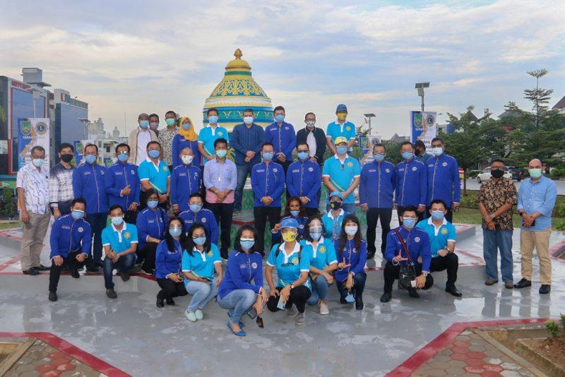 Wali Kota Batam, Muhammad Rudi Resmikan Taman Tugu Gasing