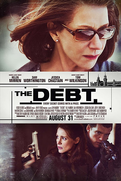 Poster of The Debt 2011 Dual Audio [Hindi DD5.1-English] 720p BluRay ESubs Download