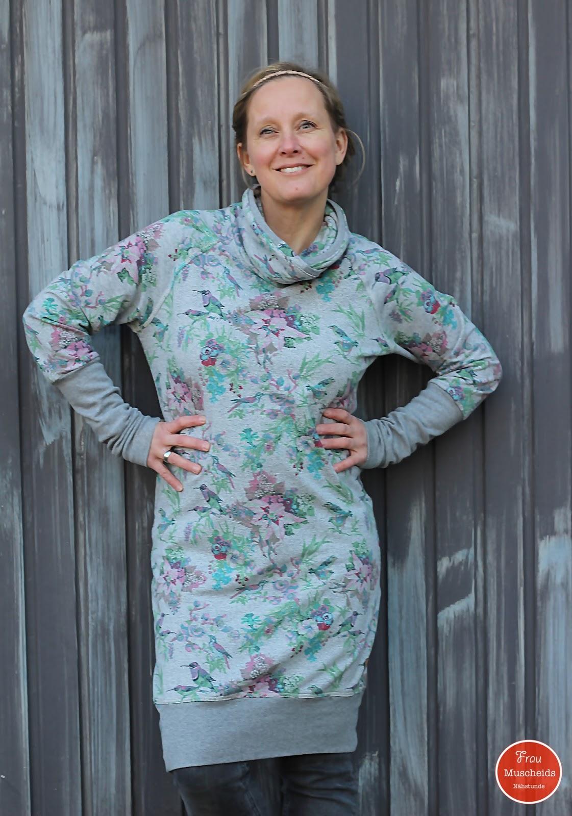 Frau Muscheids Nähstunde: Meine Vanja funktioniert auch als Kleid