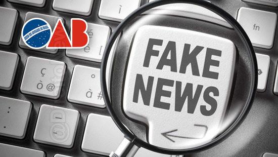 oab pl fake news viola sigilo