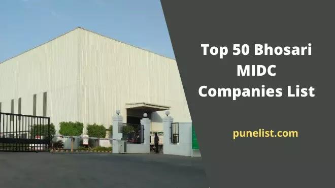 Bhosari MIDC Companies List