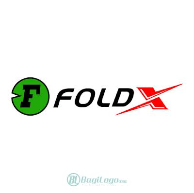 FoldX Bike Logo Vector