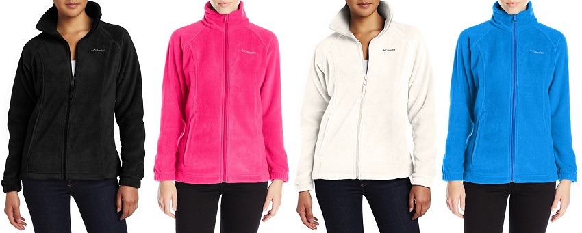Columbia Benton Springs Full Zip Fleece Jackets for $22-$35 (reg $60)