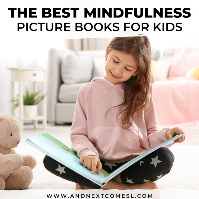 Mindfulness and relaxation books for kids