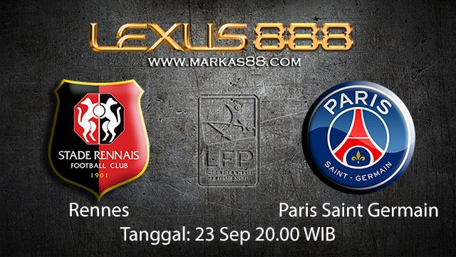 Prediksi Bola Jitu Rennes vs Paris Saint Germain 23 September 2018 ( French Ligue 1 )