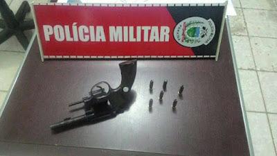 Operação Nômade em Cuité consegue desarmar mais um portador de arma de fogo
