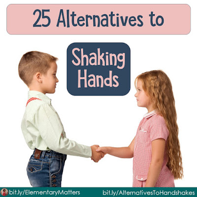 25 Alternatives to Handshakes: Greeting classmates is an important part of bonding as a class and building relationships.