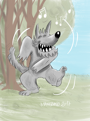 baile-lobo-niños-ilustracion-dibujo