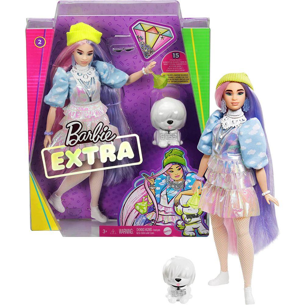 Кукла Barbie Extra Beanie