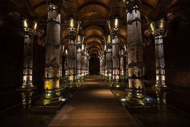 Cisterna di Teodosio (Serefiye Sarnici)-Istanbul