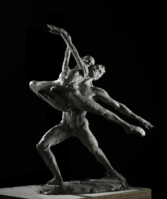 Richard MacDonald 1946 | American figurative sculptor | The Dancers