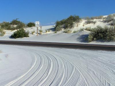 Ambiance neige au Nouveau-Mexique