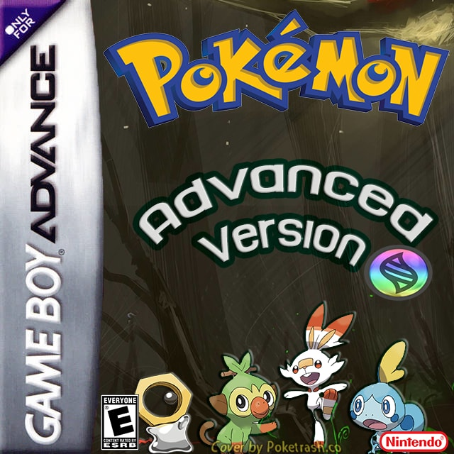 Pokemon Advanced Version gba hack 2019