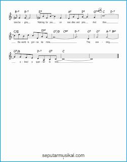 chord about a quarter to nine 2 lagu jazz standar