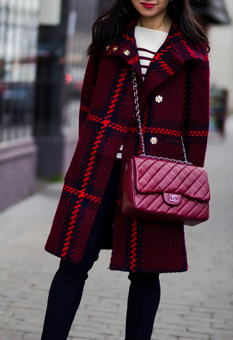 Plaid Coat (+ Rant: Infinite Style by Ann Taylor)