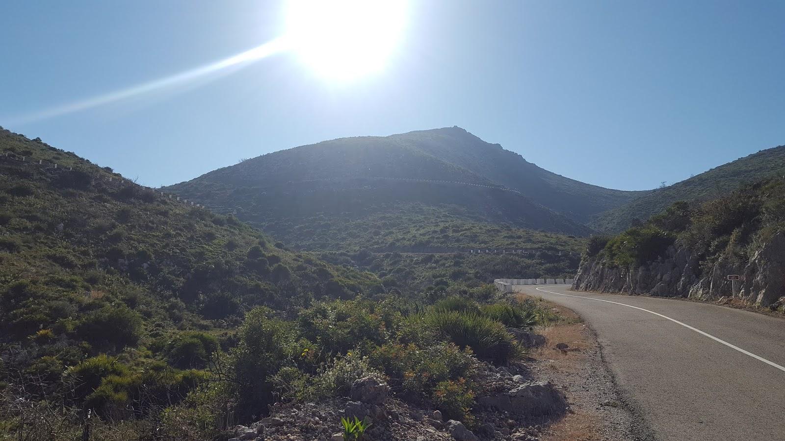 The long and winding road, Vall de Ebo, Alicante