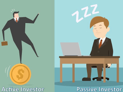 Picture shows active and dozing Investors