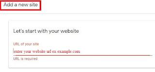 Adsense approve the Add new website stuff