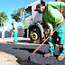 Prefeitura de São Desidério realiza operação tapa-buraco nas ruas da sede do município