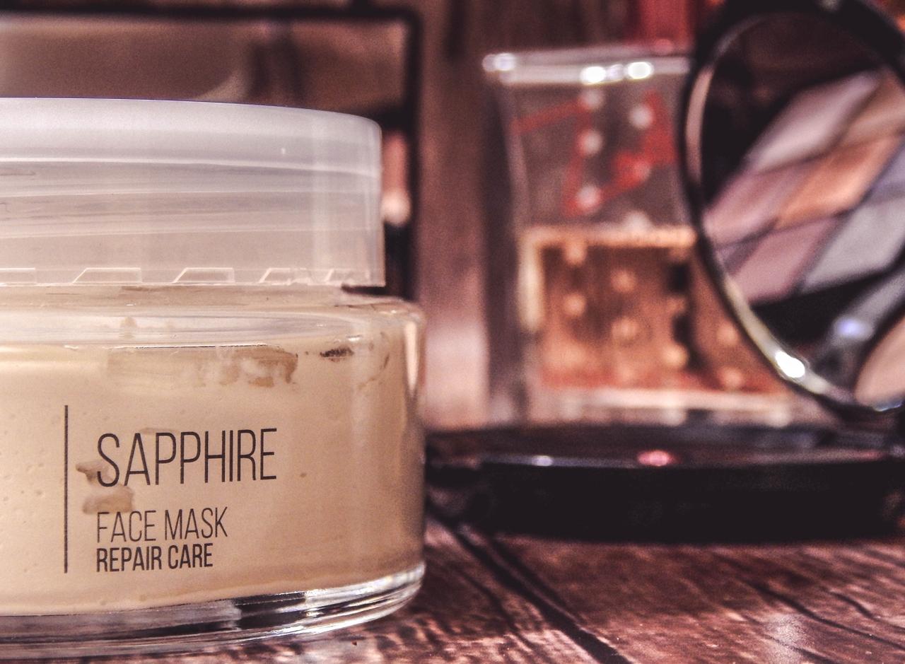 1 sm collection crystal sapphire face mask repair care maseczka szafirowa hristina do twarzy maseczki do tłustej świecącej się skóry słonnej do wyprysków maseczka matująca opinia recenzja jak działa blog beauty łódź
