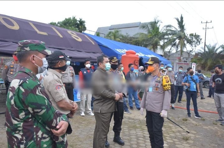 Kapolda Apresiasi Kesiapan Posko Pencegahan Covid-19 Yang Berada Di Jujuhan Kabupaten Bungo