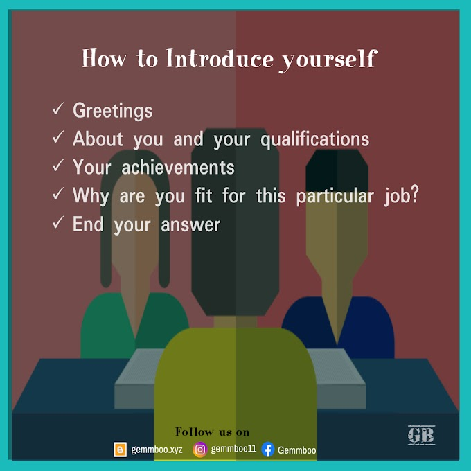 How to introduce yourself in an interview   Different ways to introduce yourself in interview   Tell me about Yourself    Self introduction for freshers and Experienced