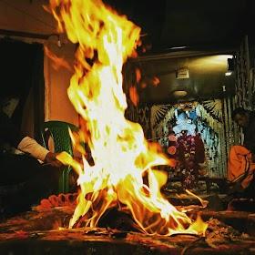Burning Fire of Gods