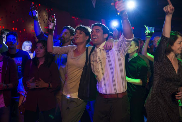 Belén Cuesta y Alex García en Litus (2019) en un momento de la película