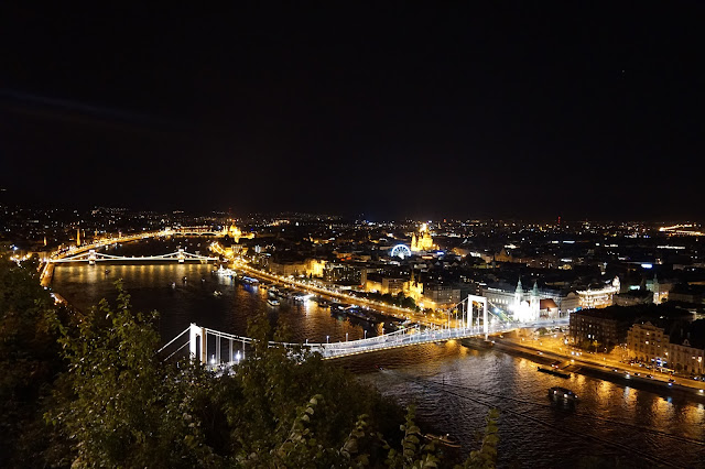 View from Citadella, Budapest