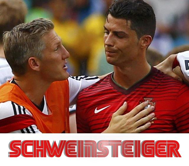 النمر الذهبي شفاينشتايغر يتحدث عن اللاعب كرستيانو رونالدو Schweinsteiger 2020