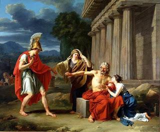 Αποτέλεσμα εικόνας για Οἰδίπους ἐπὶ Κολωνῷ