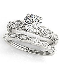 Cheap Diamond Wedding Rings Sets
