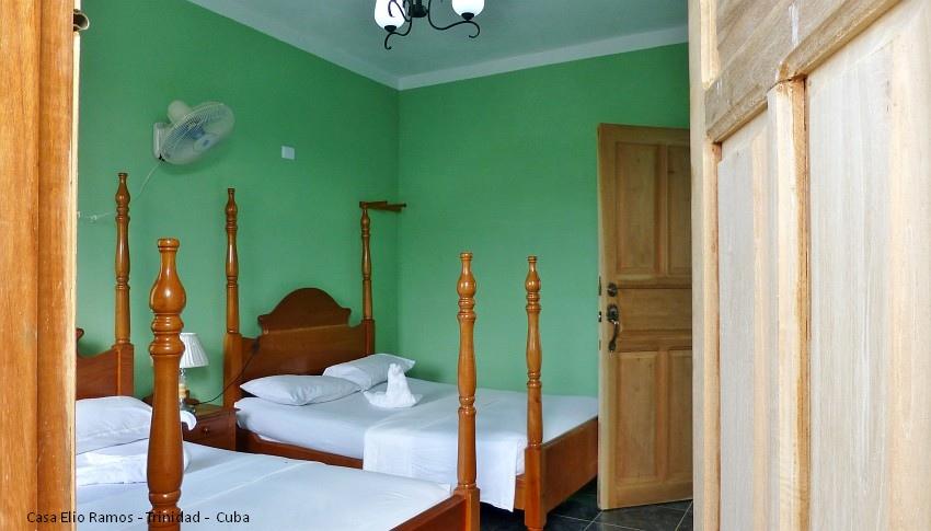 Casa Hostal Elio Ramos Bedroom Trinidad -  Cuba