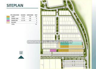 Site Plan Cluster ORLANDA Alam Sutera